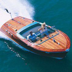 Wood boats and dreams