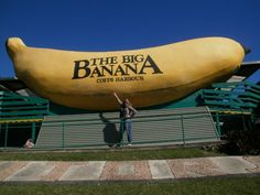 Australia likes to do things BIG - like The Big Banana in Coffs Harbour, NSW