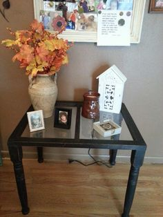 Coffee table made from an old window DIY Projects Pinterest