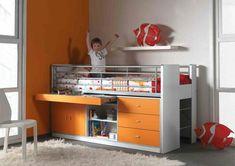 5088895827993b 8 meilleures images du tableau Lit toboggan   Child room, Lofted ...