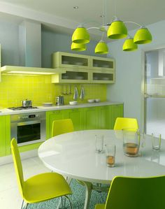 Pea soup anyone? http://www.trendecoration.com/wp-content/uploads/pretty-green-and-yellow-kitchen-combination-design.jpg