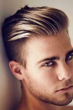 Trending Hairstyles For Men, Cool Hairstyles For Men, Haircuts For Men, Summer Hairstyles, Men's Haircuts, Faux Hawk Hairstyles, Messy Hairstyles, Blonde Hairstyles, Blondes Sexy