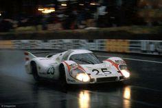 Vic Elford / Kurt Ahrens Jr., #25 Porsche 917LH (Porsche Konstruktionen K.G.), 24 Hours Le Mans 1970 (DNF)