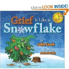 Grief is like a Snowflake by Julia Cook. Help your kids understand grief. Grief Activities, Counseling Activities, Therapy Activities, Julia Cook, Grief Counseling, Elementary Counseling, Counseling Office, Child Life Specialist, Dealing With Grief