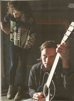 Regine Chassagne & Win Butler, NME July 2010.