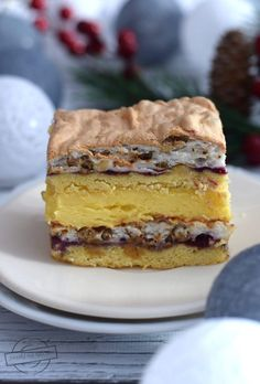 Pychotka (Pani Walewska) - Tastes on the plate Polish Recipes, Tiramisu, Good Food, Food And Drink, Plates, Chocolate, Cake, Ethnic Recipes, Interesting Recipes