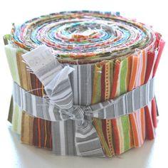 """aq-144-1068 20 x (2,5"""" x 43"""" - ~ 6,35 cm x 110 cm) Jelly Roll - Streifen - 20 verschiedene Stoffe, Stoffzusammenstellung variiert"""