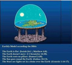 The bible saids the earth is FLAT with a Dome over it. NOT a round spinning ball. That is a lie of Satan. They showed the World a fake moon landing with actors on a set and special movie effects they ALREADY had back when they lied and said they went to the moon. NASA is of Satan the devil. Believe in AHAYAH (God of Abraham Isaac and Jacob) ONLY #HebrewIsraelites spreading TRUTH #ISRAELisBLACK