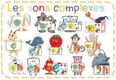 AJOUT IL ILLE AJOUT AU/AIN / EU J'ai créé des images pour les sons complexes avec l'écriture des Alphas. C'est pour intégrer à des docs, faire des affichettes... Lire la suite... Article original r