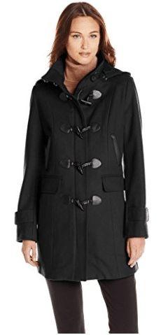 920e69024bb Tommy Hilfiger Women's Missy Wool-Blend Duffle Coat Wool Coats, Duffle Coat,  Tommy