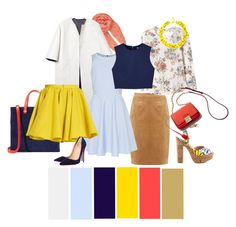 """""""set2"""" by julesaf on Polyvore featuring мода, BeckSöndergaard, Marni, Helen McAlinden, Ted Baker, Rebecca Taylor, Clare V., Alice + Olivia, Merci Me London и Slate & Willow"""