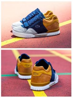 SneakerFreaker x Lacoste L!VE Missouri Friends Family Lacoste Sneakers, Best Sneakers, Sneakers Fashion, Fashion Shoes, Shoes Sneakers, Lacoste Shoes Mens, Mens Puma Shoes, Kicks Shoes, Hype Shoes