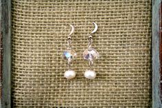 Check out this item in my Etsy shop https://www.etsy.com/listing/179334783/pearl-crystal-drops