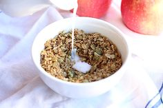 12. Sugar-Free Cinnamon Coconut Granola #healthy #granola #recipes http://greatist.com/eat/homemade-granola-recipes-that-are-healthy