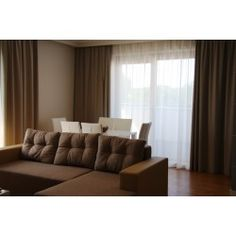natural curtains for holiday apartment on the sea side