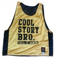 Cool Story Bro Reversible Lacrosse Lax Pinnie