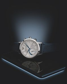 The stylishly smart Hybrid Smartwatch Collection by Emporio Armani Connected is available now. #EAConnected Discover more on emporioarmaniconnected.com