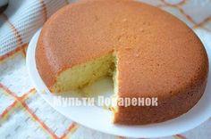 Лимонный кекс в мультиварке | Мультиповаренок