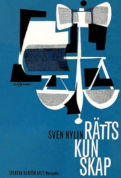 Cover by Ulf Löfgren, 1963