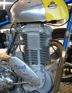 Very rare, and very expensive…If you can find one. Enduro Motorcycle, Retro Motorcycle, Motocross Bikes, Vintage Motocross, Cafe Racer Motorcycle, Vespa Vintage, Vintage Bikes, Vintage Motorcycles, Custom Motorcycles