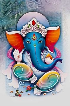 Lord Ganesha is one of the most popular Hindu deity. Here are top Lord Ganesha images, photos, HD wallpapers for your desktop and mobile devices. Ganesha Drawing, Lord Ganesha Paintings, Lord Shiva Painting, Shiva Art, Krishna Art, Hindu Art, Shri Ganesh Images, Ganesha Pictures, Hanuman Photos
