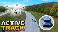 DJI Phantom 4: Active Tracking While Driving - http://dronewithcamera.store/dji-phantom-4-active-tracking-while-driving/