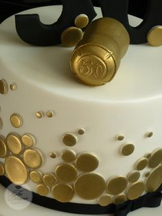 Champagne cork cake topper | Flickr - Photo Sharing!