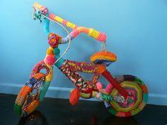 Yarn Bombed Bikes | Yarn Bomb Yukon
