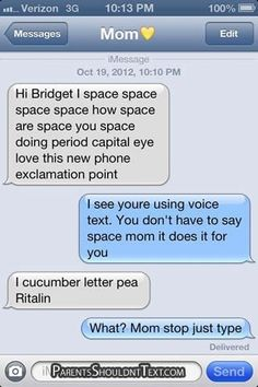 15 Awkwardly Funny Texts From Parents   Her Campus