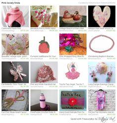 Pink Lovely Finds by Natasha features my Crocheted Pumpkin Hat.  #pumpkin #hat #crochet #child