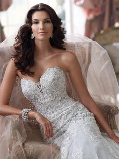 Style No. 114293 » David Tutera for Mon Cheri»wedding dresses 2013 and bridal gowns 2014