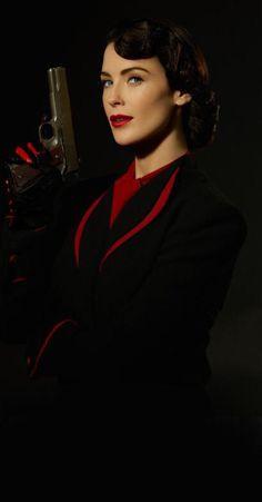 Bridget Regan as Dottie Underwood for season 2 of Marvel's Agent Carter