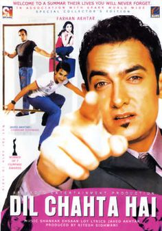Dil Chahta hai...One of my Favorite movies..great caste ..specially Aamir Khan did awesome in it #Bollywood  #Movie