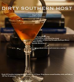 Dirty Southern Host created for us by Ryan Easterly for the Angel's Envy Rye show.