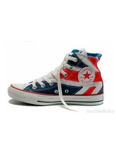 f19cc1865dcb Zapatillas All Star de Converse de inspiración british. (120 euros) Red High  Tops