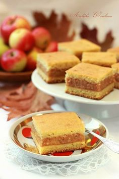 Szarlotka biszkoptowa4 Polish Recipes, French Toast, Baking, Breakfast, Blog, Morning Coffee, Polish Food Recipes, Bakken, Blogging