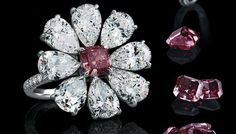 The Leviev cocktail rings' red and D-flawless white diamonds can be reset in other jewelry designs for the recipient. Loose stones are also part of the gift.