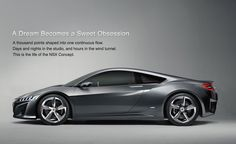 2013 Acura NSX | Future Vehicles | Acura.com #sinfullysweet