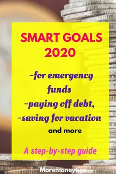 Learn to set SMART goals easily using these step-by-step examples. Turn your dreams into reality. Don't just set any goals, set SMART goals! Ways To Save Money, Money Tips, Money Saving Tips, Student Loan Debt, Financial Success, Debt Payoff, Money Management, Personal Finance, Budgeting