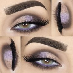 Purple eyeshadow look Gorgeous Eyes, Gorgeous Makeup, Pretty Makeup, Love Makeup, Makeup Inspo, Makeup Inspiration, Makeup Looks, Makeup Tips, Amazing Makeup