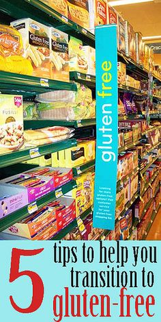Five tips to help you transition to gluten-free
