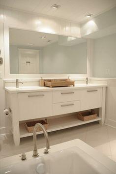 Beach House Bathroom - contemporary - bathroom - wilmington - Pine Street Carpenters & The Kitchen Studio