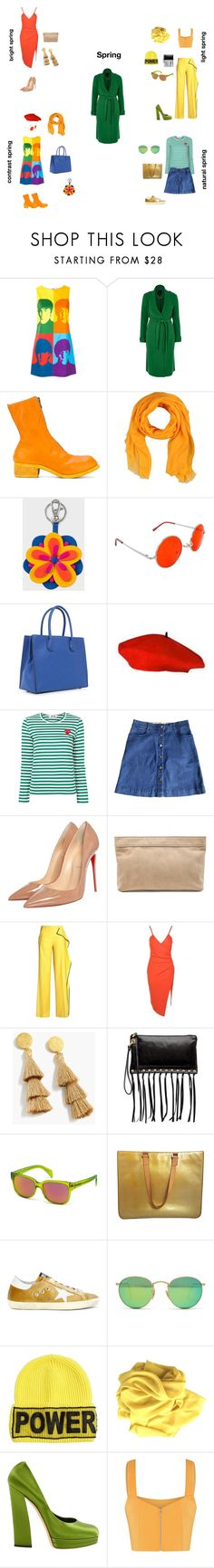 """Весенний цветотип"" by gubinakaterina on Polyvore featuring мода, Alice + Olivia, River Island, Guidi, M Missoni, PS Paul Smith, SWG, MICHAEL Michael Kors, STELLA McCARTNEY и Christian Louboutin"