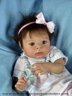 Julieta (Kit reborn Eric por Adrie Stoete) Reborn Baby Dolls, Kit, Budget, Reborn Dolls