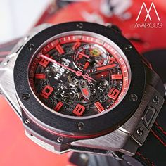 Fast Time with the Hublot Ferrari Bang UK. Yep you guessed it, only available in the UK, a titanium case with ceramic bezel and the iconic prancing horse on the dial. I think Hublot got the design perfect for these Ferrari pieces compared to other brands attempts in the past.