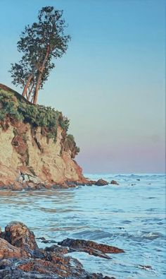 """Ron Parker - Last Rays of the Sun - Oil on Canvas - 40"""" x 24"""""""
