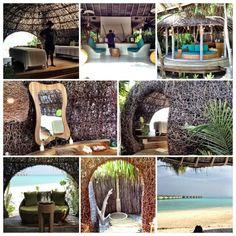 The heavenly Six Senses Laamu Spa, Maldives