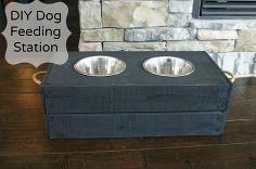 Pet Food Stations :: Fisherman's Wife Furniture's clipboard on Hometalk :: Hometalk