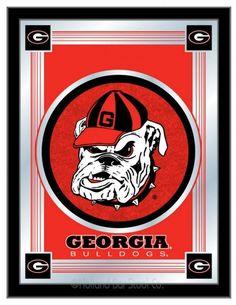 "Georgia ""Bulldog"" Logo Mirror"