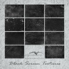 Black Screen Textures Textures Photoshop Digital texture